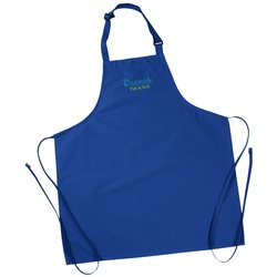 View a larger, more detailed picture of the Bib Apron without Pockets