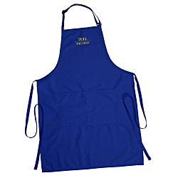 View a larger, more detailed picture of the Butcher Apron with Two Patch Pockets