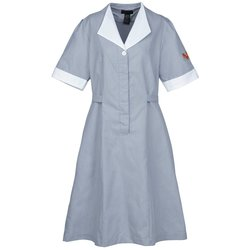 View a larger, more detailed picture of the Junior Cord Housekeeping Dress