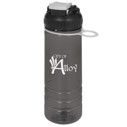 View a larger, more detailed picture of the Groove Grip Sport Bottle - 20 oz