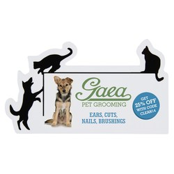 View a larger, more detailed picture of the Flat Flexible Magnet - Cats & Dogs