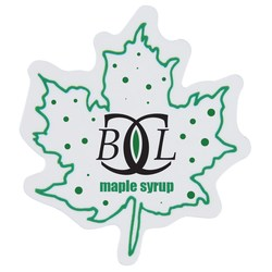 View a larger, more detailed picture of the Flat Flexible Magnet - Maple Leaf