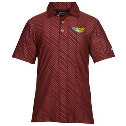 View a larger, more detailed picture of the Nike Dri-Fit Tonal Print Polo