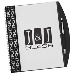 View a larger, more detailed picture of the Pen Pal Nexus Notebook - 9-1 2 x 7-1 2