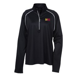 View a larger, more detailed picture of the Callaway Edison 1 4 Zip Pullover - Ladies