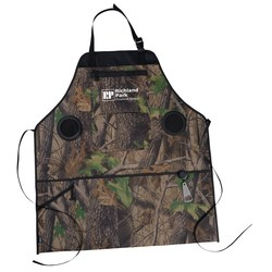 View a larger, more detailed picture of the Camo Grill & Groove Apron w Speakers