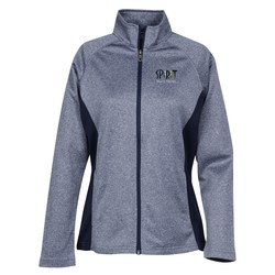 View a larger, more detailed picture of the Vansport Heathered Knit Jacket - Ladies