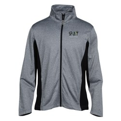 View a larger, more detailed picture of the Vansport Heathered Knit Jacket - Men s