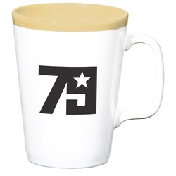 View a larger, more detailed picture of the Two-Tone Java Mug - 14 oz - Closeout