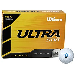 View a larger, more detailed picture of the Wilson Ultra Distance Golf Ball- Dozen - Quick Ship