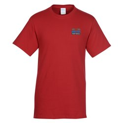 View a larger, more detailed picture of the Port Tagless 5 4 oz T-Shirt Colors - Emb