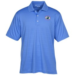 View a larger, more detailed picture of the Adidas Golf ClimaLite Textured Polo - Men s