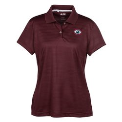 View a larger, more detailed picture of the Adidas Golf ClimaLite Textured Polo - Ladies