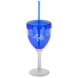 View a larger, more detailed picture of the Cool Gear Wine Glass - 10 oz - 24 hr