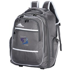 View a larger, more detailed picture of the High Sierra Rev Wheeled Laptop Backpack