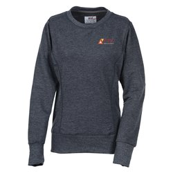 View a larger, more detailed picture of the Anvil French Terry Mid-Scoop Sweatshirt - Ladies