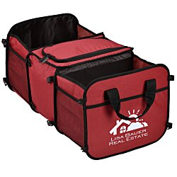 View a larger, more detailed picture of the Tailgater Trunk Cooler Organizer - 24 hr