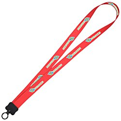 View a larger, more detailed picture of the Dye-Sublimated Lanyard - 3 4 - 24 hr