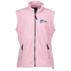 View a larger, more detailed picture of the Katahdin Tek Fleece Vest - Ladies - Closeout Color