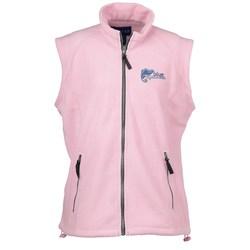 View a larger, more detailed picture of the Katahdin Tek Fleece Vest - Ladies - Closeout Colors