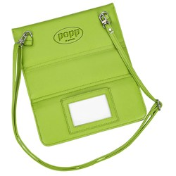 View a larger, more detailed picture of the Convertible Crossbody Tablet Tote - 24 hr