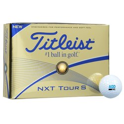 View a larger, more detailed picture of the Titleist NXT Tour S Golf Ball - Dozen - Standard Ship