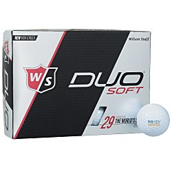 View a larger, more detailed picture of the Wilson Duo Golf Ball - Dozen - Standard Ship