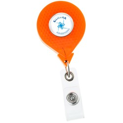 View a larger, more detailed picture of the Reflective Retractable Badge Holder