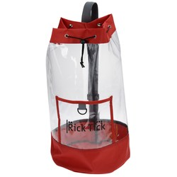 View a larger, more detailed picture of the Clear Sling Backpack
