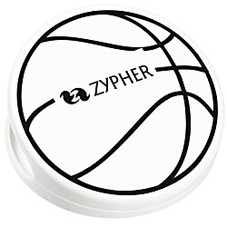 View a larger, more detailed picture of the Keep-it Clip - Basketball - Opaque
