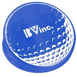 View a larger, more detailed picture of the Keep-it Clip - Golf Ball - Translucent