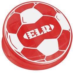 View a larger, more detailed picture of the Keep-it Clip - Soccer Ball - Translucent
