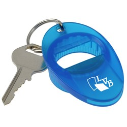 View a larger, more detailed picture of the Multi Twist Bottle Can Opener-Translucent-Closeout