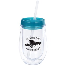 View a larger, more detailed picture of the Bev2Go Tumbler - 10 oz