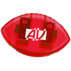 View a larger, more detailed picture of the Keep-it Magnet Clip - Football - Translucent - 24 hr