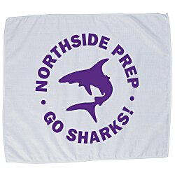 View a larger, more detailed picture of the Poly Blend Rally Towel - 24 hr