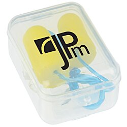 View a larger, more detailed picture of the Corded Ear Plugs in Clip Case - 24 hr