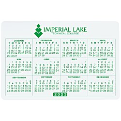 View a larger, more detailed picture of the Removable Laptop Calendar - 2-3 4 x 4-1 8