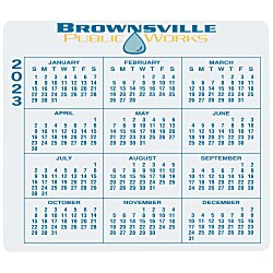 View a larger, more detailed picture of the Removable Laptop Calendar - 3-1 4 x 3-3 4 - Full Color