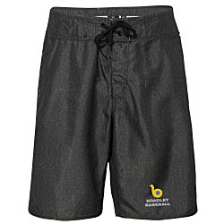 View a larger, more detailed picture of the Burnside Heathered Board Shorts