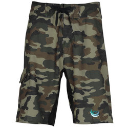View a larger, more detailed picture of the Burnside Camo-Diamond Dobby Board Shorts