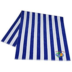 View a larger, more detailed picture of the Midweight Cabana Stripe Towel