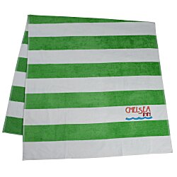 View a larger, more detailed picture of the Heavyweight Cabana Stripe Towel