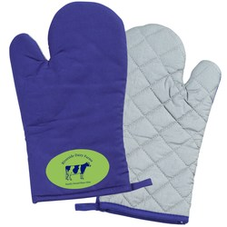 View a larger, more detailed picture of the Oven Mitt - Closeout
