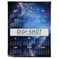 View a larger, more detailed picture of the Glow In The Dark Span-A-Year Calendar