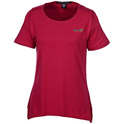 View a larger, more detailed picture of the Devon & Jones Perfect Fit Shell T-Shirt