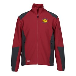 View a larger, more detailed picture of the Dri Duck Baseline Soft Shell Jacket - Men s