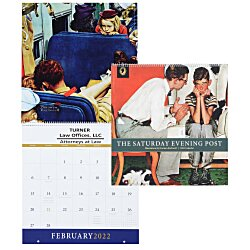 View a larger, more detailed picture of the The Saturday Evening Post Appointment Calendar