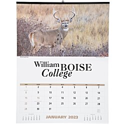 View a larger, more detailed picture of the North American Wildlife Large Wall Calendar
