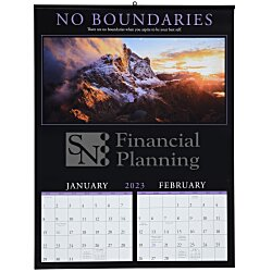 View a larger, more detailed picture of the Motivational Calendar w 2-Month View